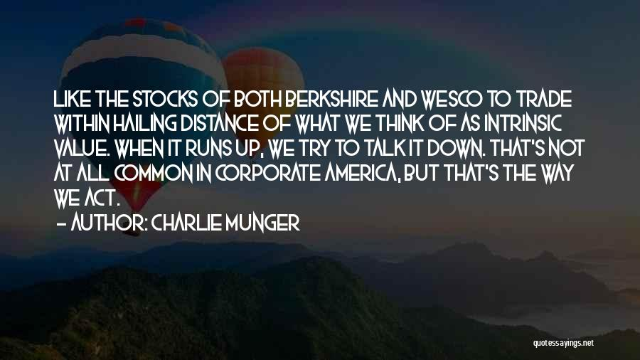 Intrinsic Value Quotes By Charlie Munger