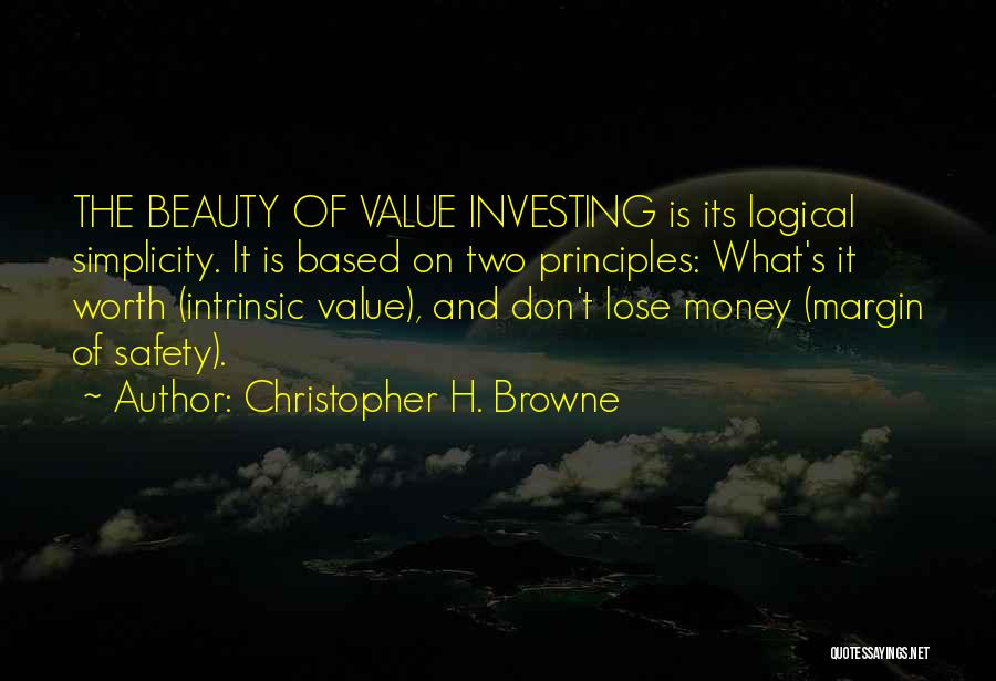 Intrinsic Value Quotes By Christopher H. Browne