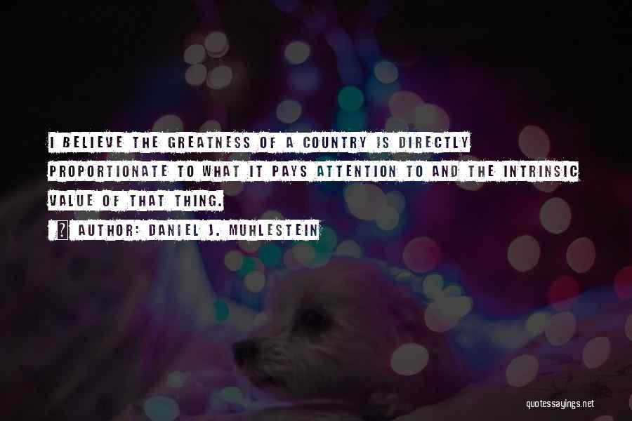 Intrinsic Value Quotes By Daniel J. Muhlestein