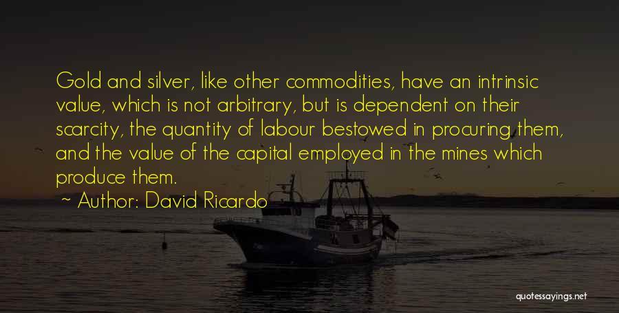 Intrinsic Value Quotes By David Ricardo
