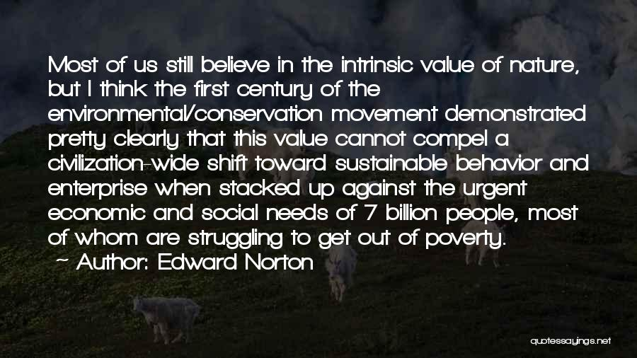 Intrinsic Value Quotes By Edward Norton