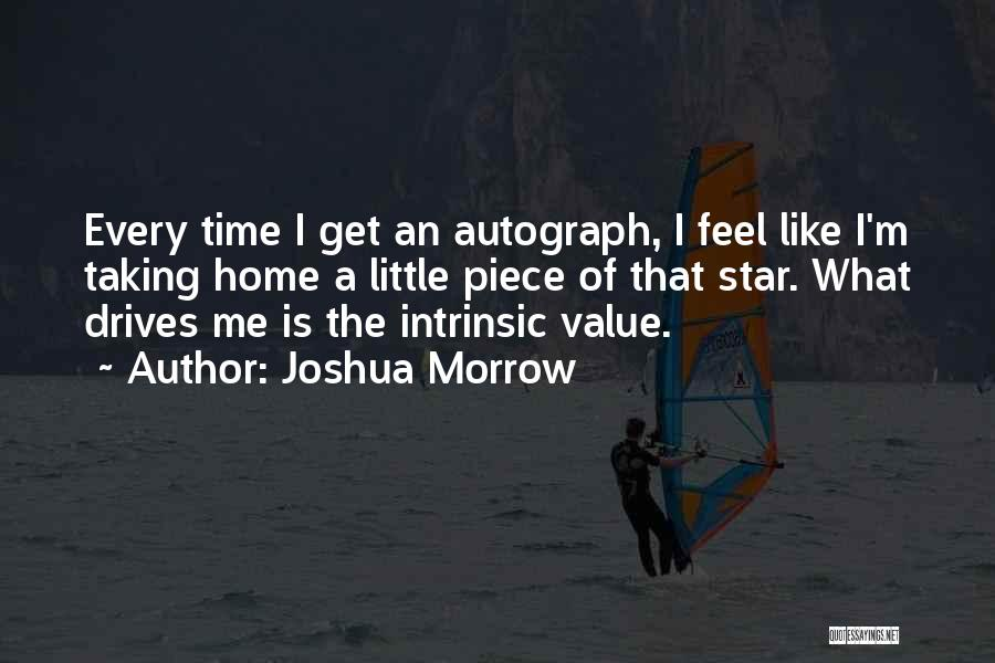 Intrinsic Value Quotes By Joshua Morrow
