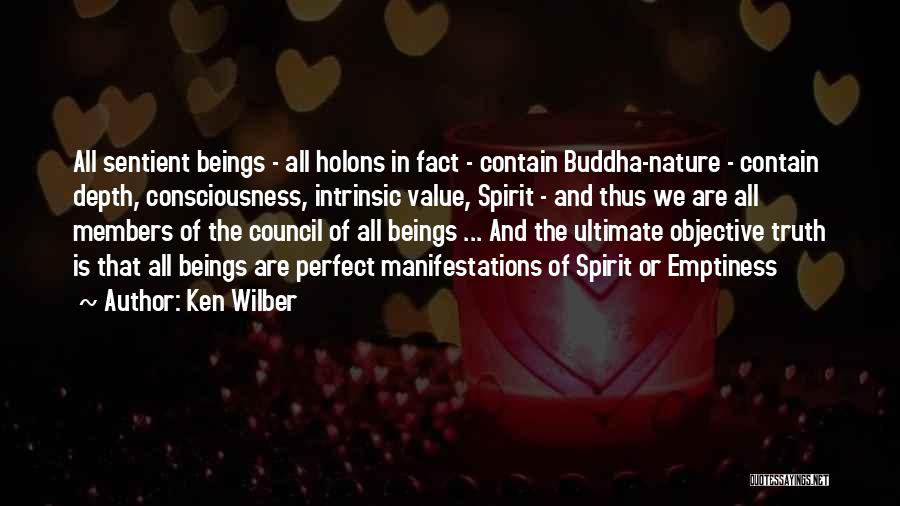Intrinsic Value Quotes By Ken Wilber