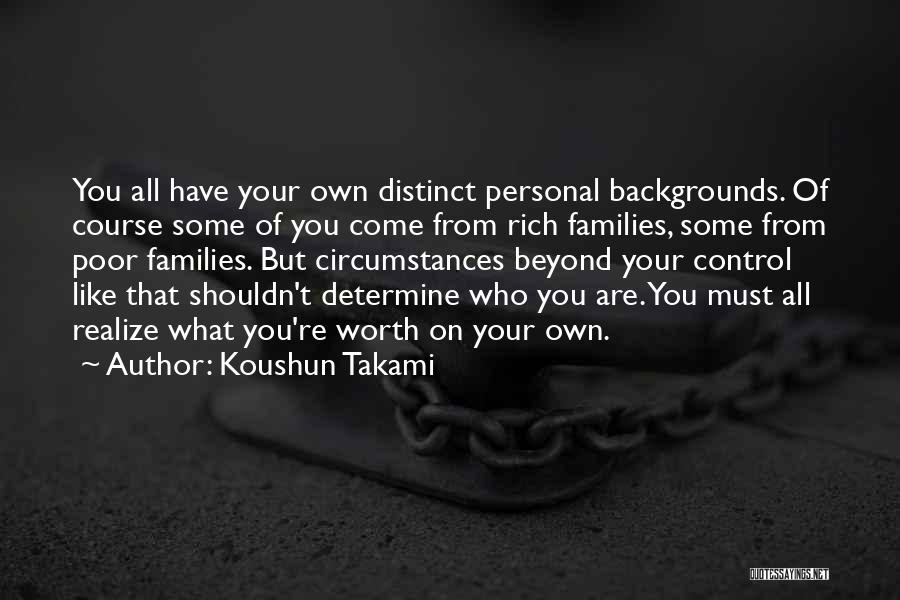 Intrinsic Value Quotes By Koushun Takami