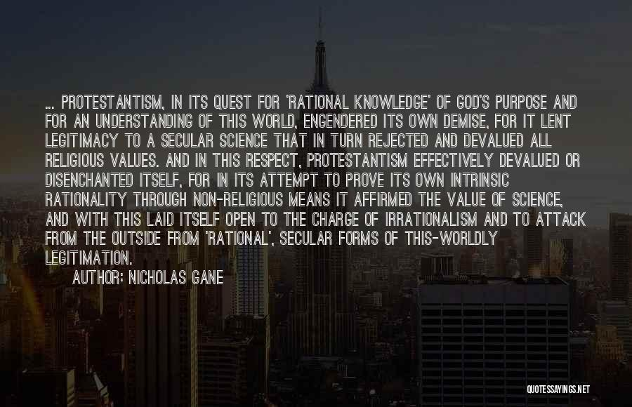 Intrinsic Value Quotes By Nicholas Gane