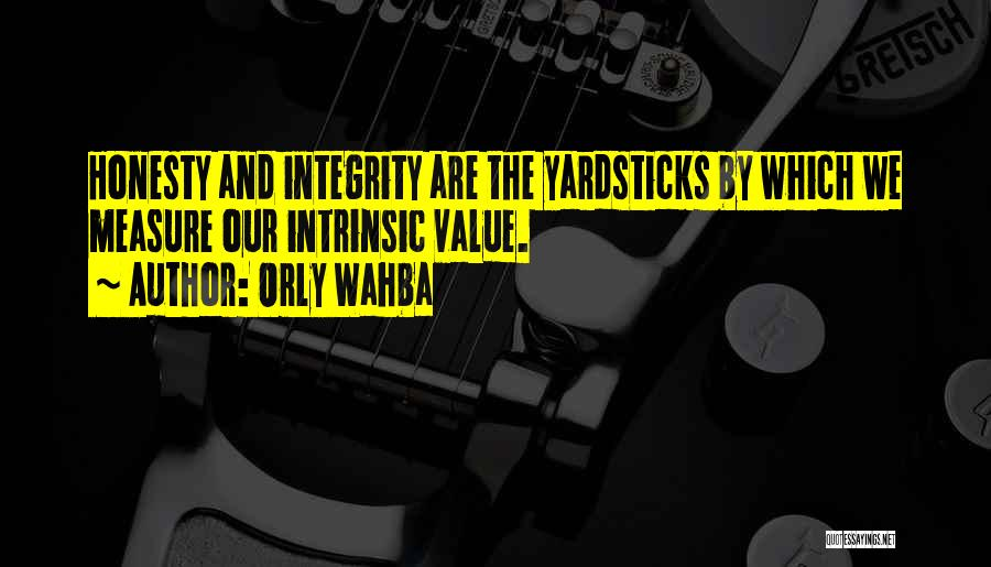 Intrinsic Value Quotes By Orly Wahba