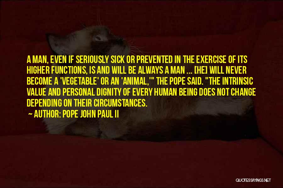 Intrinsic Value Quotes By Pope John Paul II