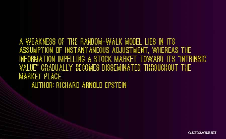 Intrinsic Value Quotes By Richard Arnold Epstein