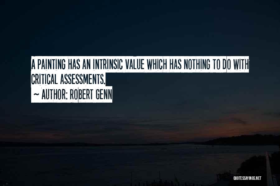 Intrinsic Value Quotes By Robert Genn