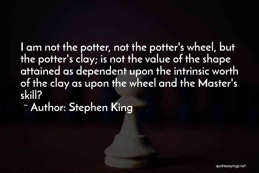 Intrinsic Value Quotes By Stephen King