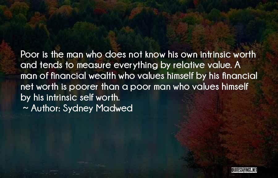 Intrinsic Value Quotes By Sydney Madwed