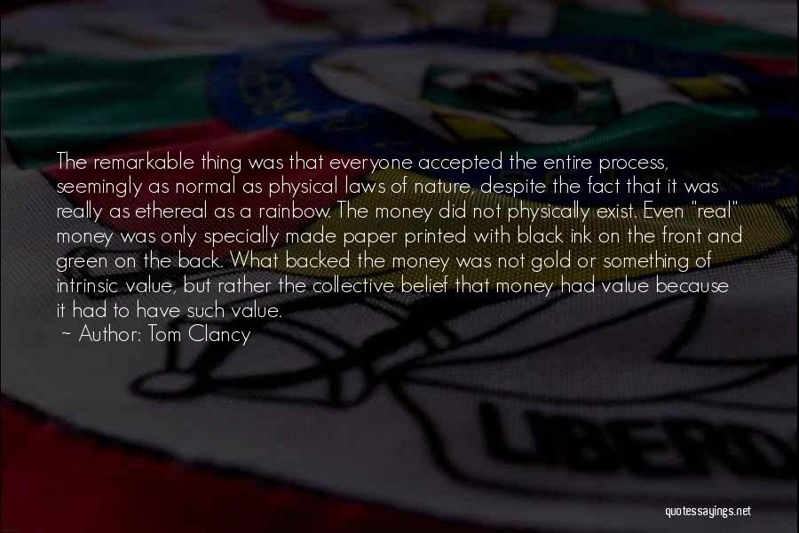 Intrinsic Value Quotes By Tom Clancy