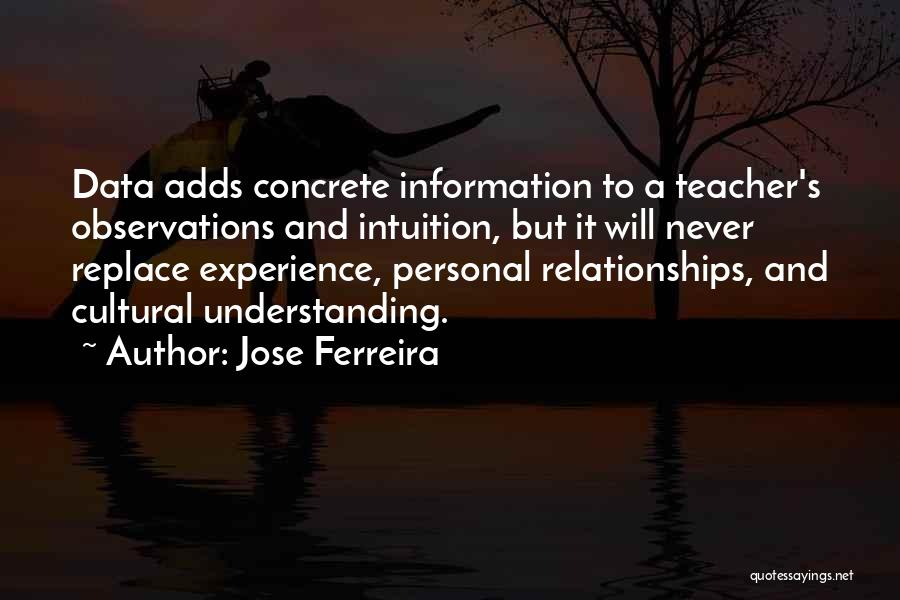 Intuition And Relationships Quotes By Jose Ferreira
