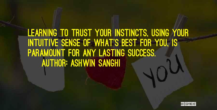 Intuitive Quotes By Ashwin Sanghi