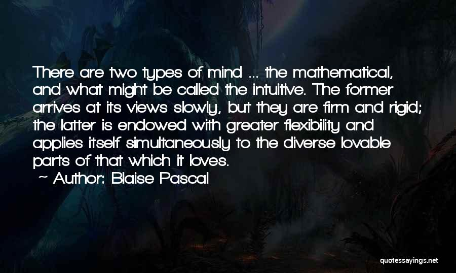 Intuitive Quotes By Blaise Pascal