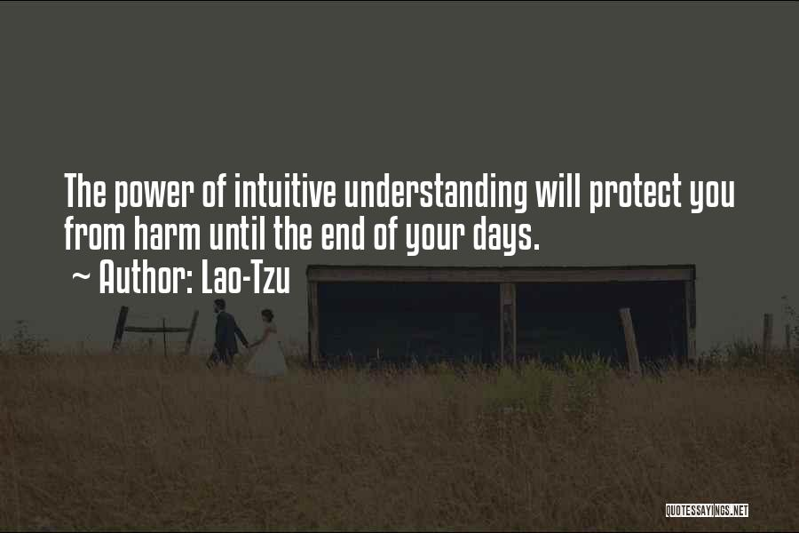 Intuitive Quotes By Lao-Tzu
