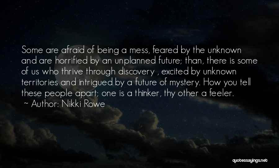 Intuitive Quotes By Nikki Rowe