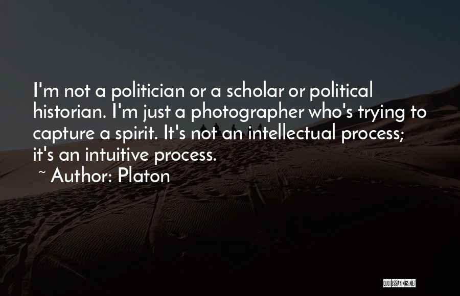 Intuitive Quotes By Platon