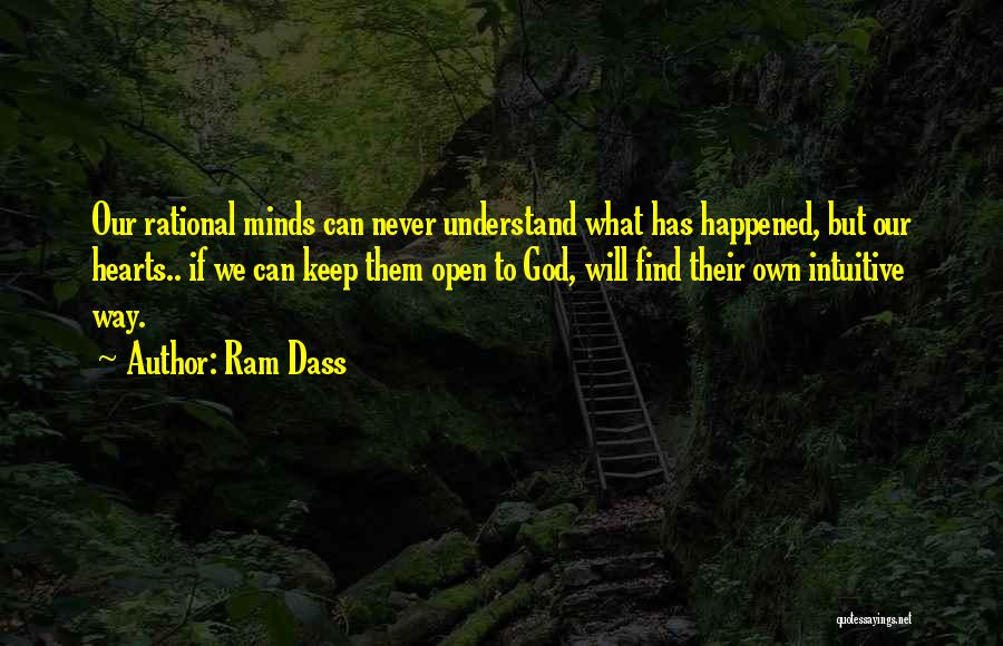 Intuitive Quotes By Ram Dass