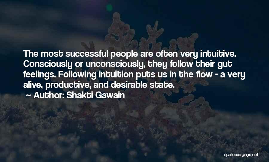 Intuitive Quotes By Shakti Gawain