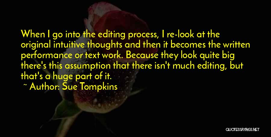Intuitive Quotes By Sue Tompkins