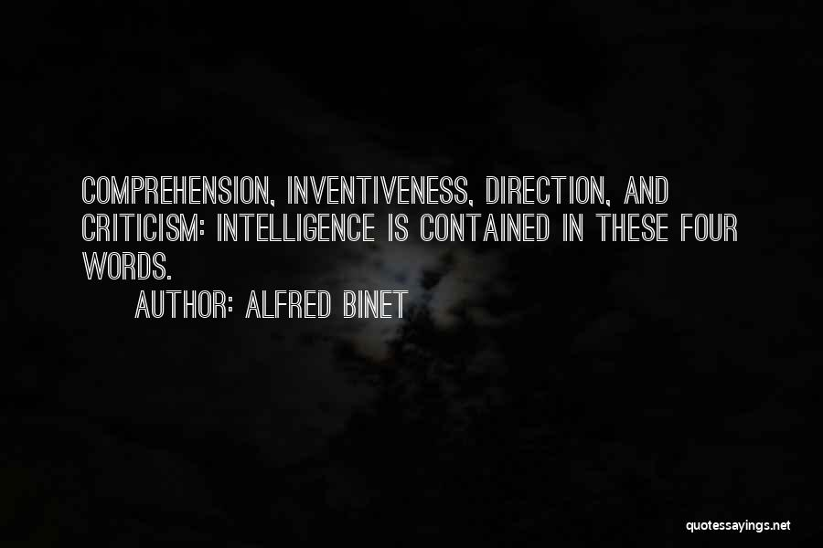 Inventiveness Quotes By Alfred Binet