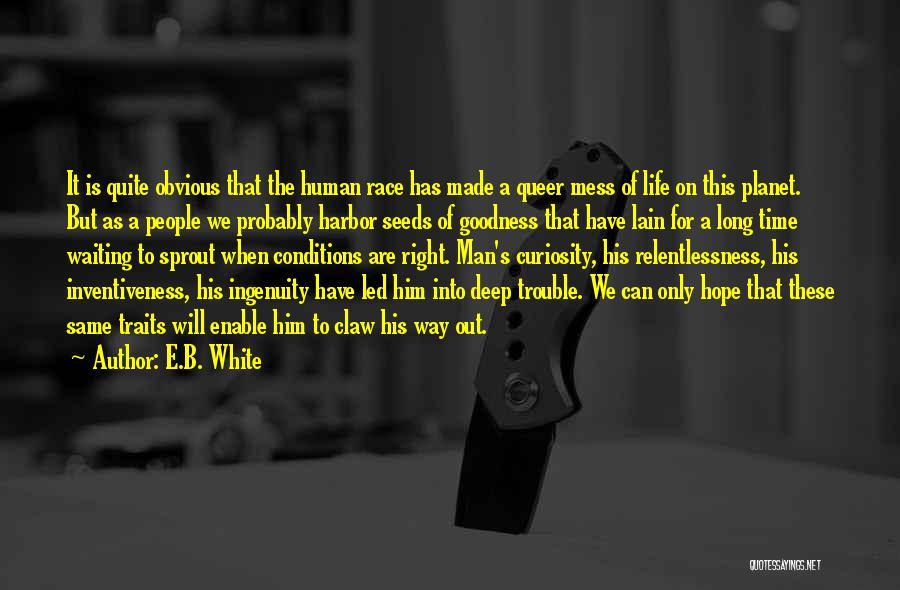 Inventiveness Quotes By E.B. White