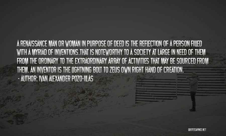 Inventiveness Quotes By Ivan Alexander Pozo-Illas