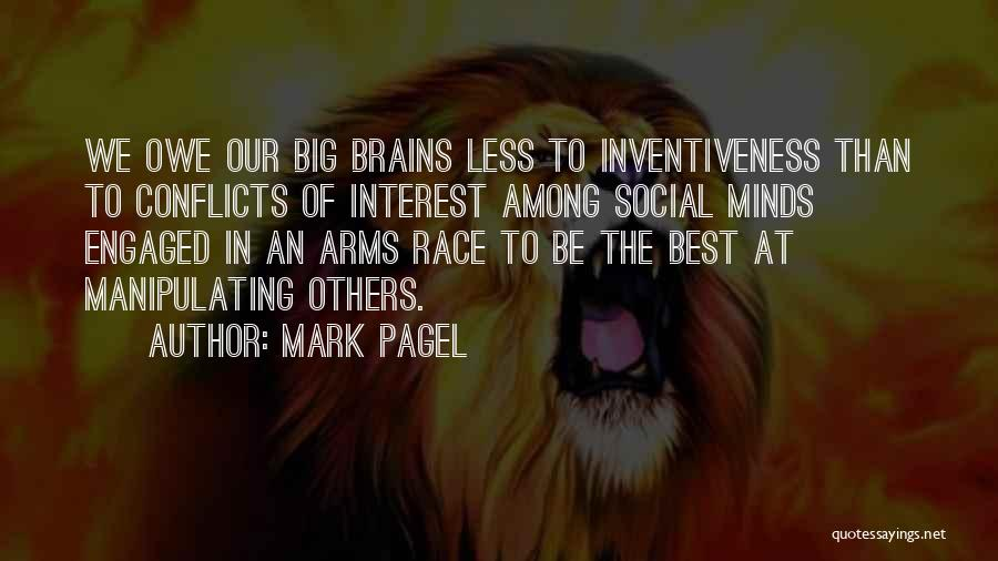 Inventiveness Quotes By Mark Pagel