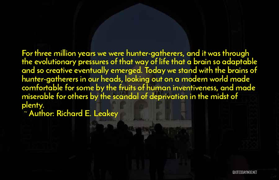Inventiveness Quotes By Richard E. Leakey