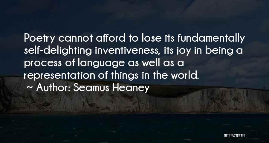 Inventiveness Quotes By Seamus Heaney