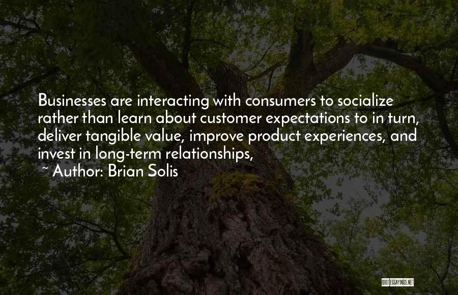 Invest In Relationships Quotes By Brian Solis