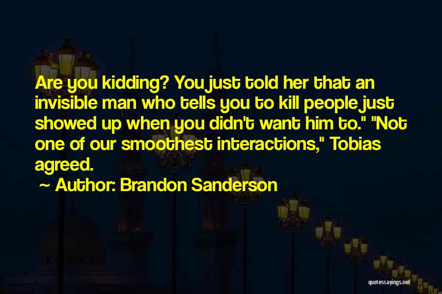 Invisible Man Invisible Quotes By Brandon Sanderson