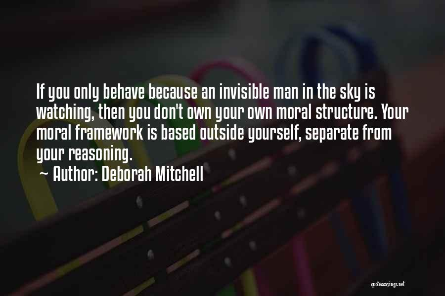 Invisible Man Invisible Quotes By Deborah Mitchell