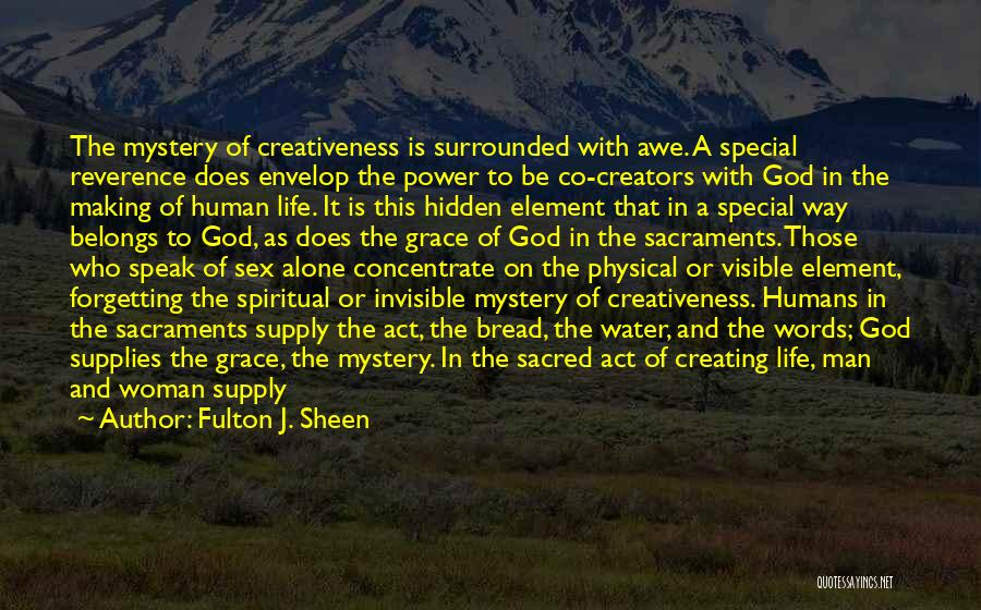 Invisible Man Invisible Quotes By Fulton J. Sheen
