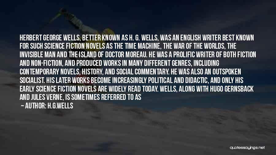 Invisible Man Invisible Quotes By H.G.Wells