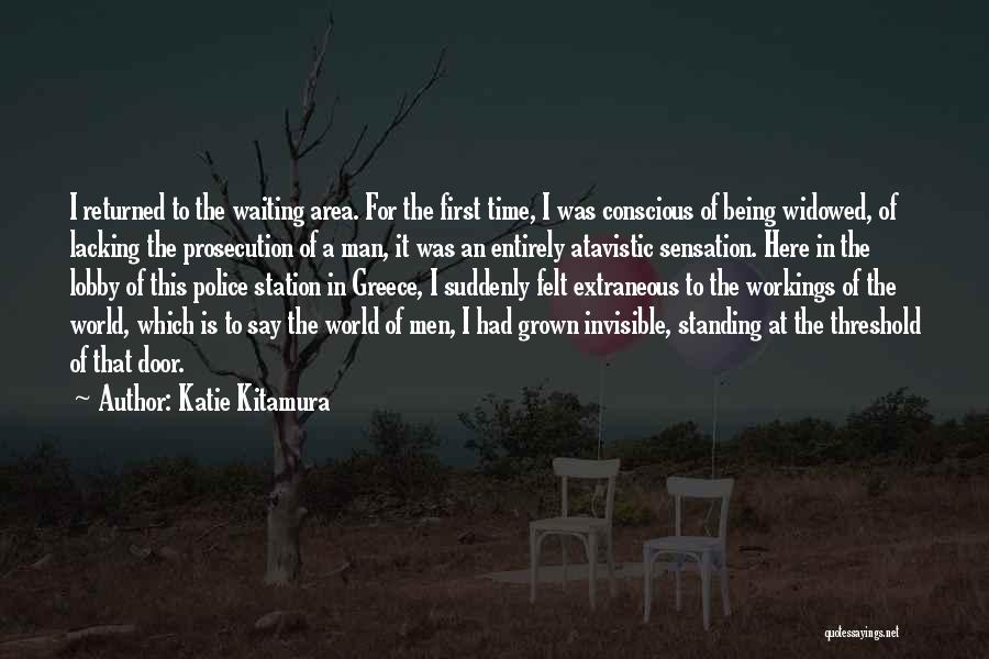 Invisible Man Invisible Quotes By Katie Kitamura