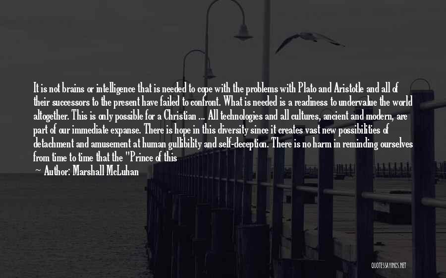 Invisible Man Invisible Quotes By Marshall McLuhan
