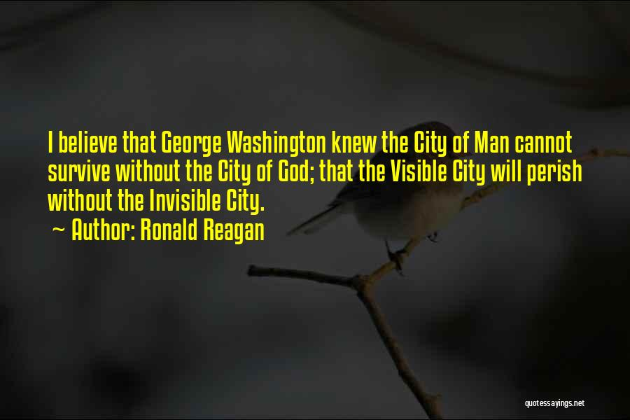 Invisible Man Invisible Quotes By Ronald Reagan