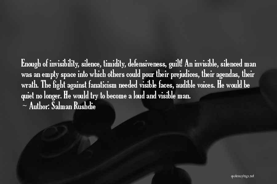 Invisible Man Invisible Quotes By Salman Rushdie