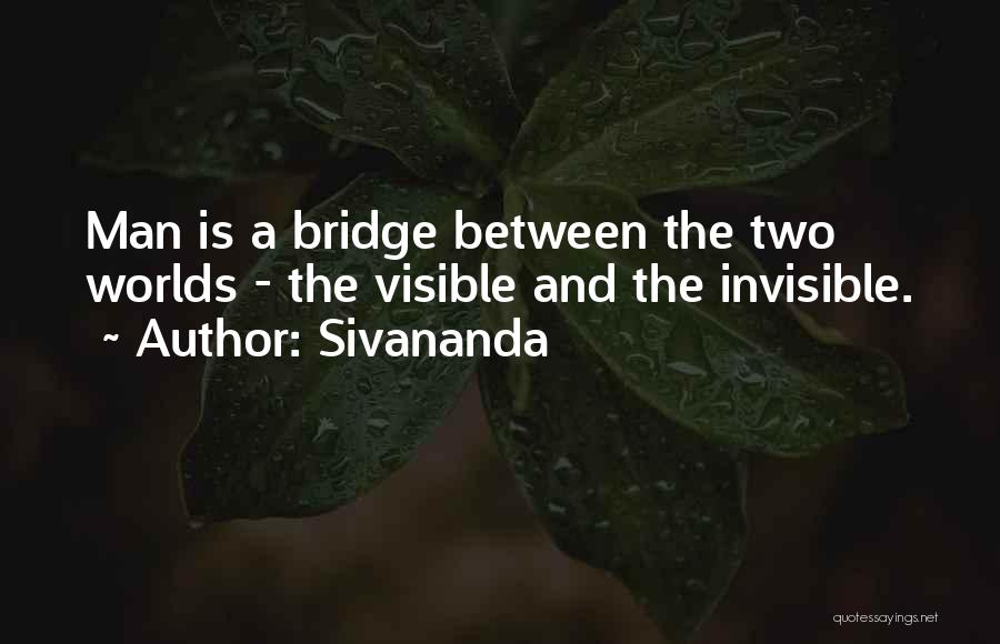 Invisible Man Invisible Quotes By Sivananda