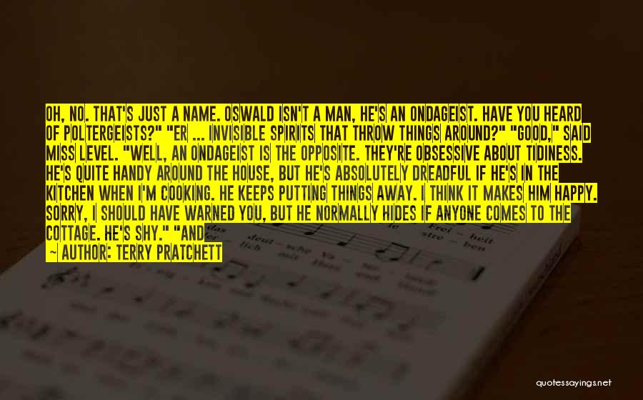 Invisible Man Invisible Quotes By Terry Pratchett