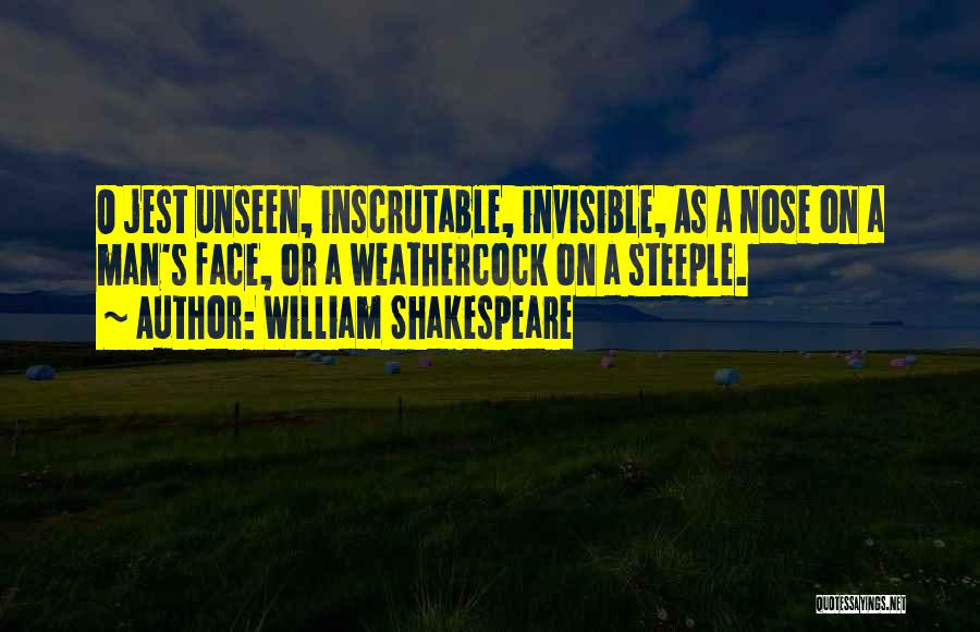 Invisible Man Invisible Quotes By William Shakespeare