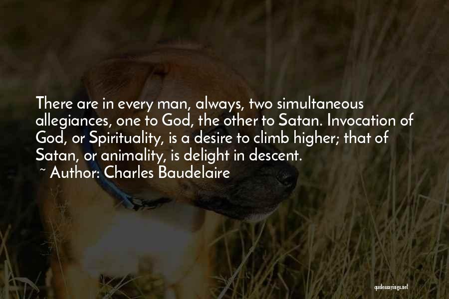 Invocation To God Quotes By Charles Baudelaire