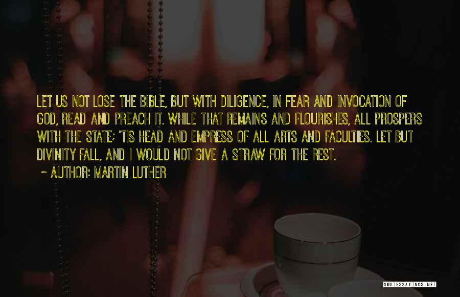 Invocation To God Quotes By Martin Luther