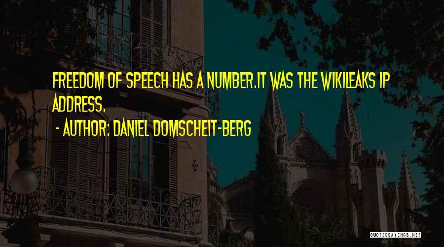 Ip Address Quotes By Daniel Domscheit-Berg