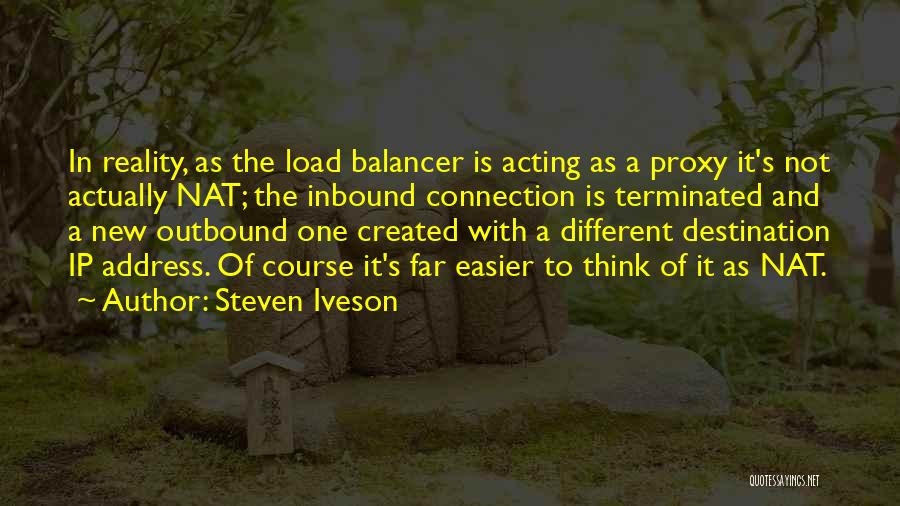 Ip Address Quotes By Steven Iveson