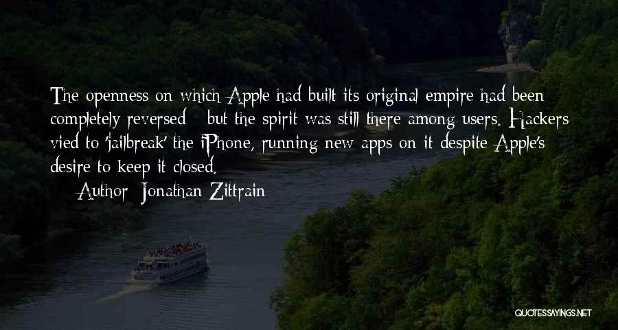 Iphone Apps Quotes By Jonathan Zittrain