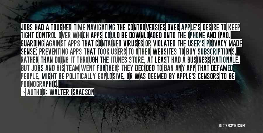 Iphone Apps Quotes By Walter Isaacson
