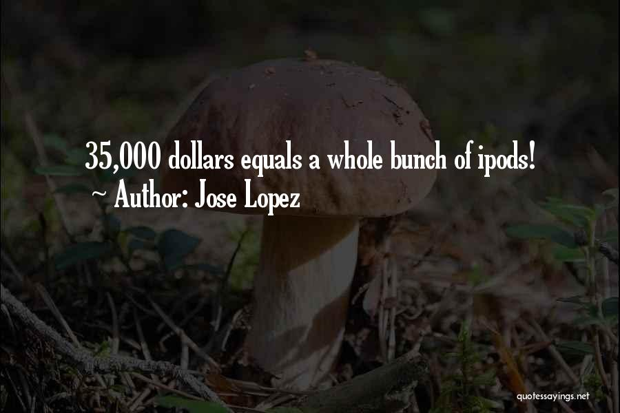 Ipods Quotes By Jose Lopez